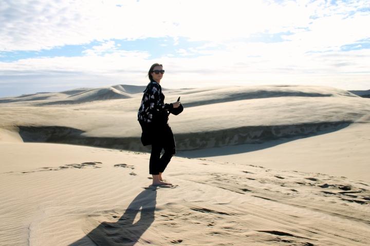 Te paki sand dunes / NewZealand